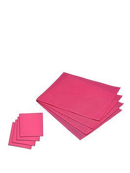 indooroutdoor-placemats-and-coasters-set-pink