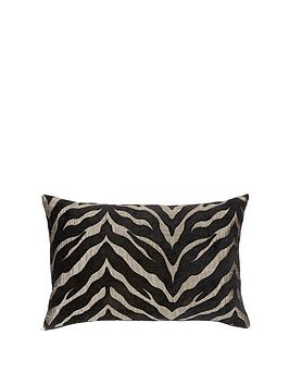 zebra-chenille-boudoir-cushion