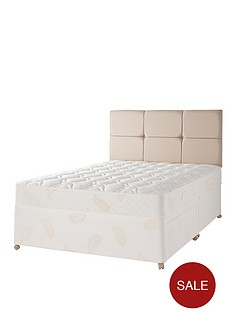 airsprung-naturals-wool-natural-quilted-divan-with-optional-storage
