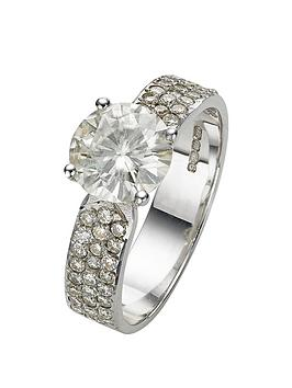 moissanite-25-carat-moissanite-9-carat-white-gold-solitaire-ring-with-stone-set-shoulders