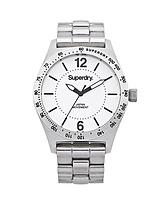 Stainless Steel White/Black Dial Ladies Watch