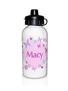 personalised-butterfly-drinks-bottle