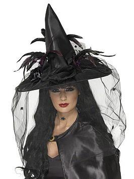 halloween-ladies-deluxe-black-witch-hat