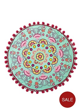 accessorize-fluoro-paisley-embroidered-filled-round-cushion