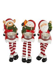 santasnowmandeer-christmas-tealight-holder