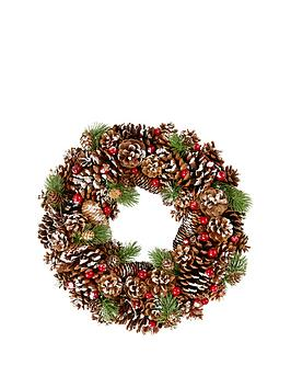 pinecone-christmas-wreath