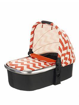 obaby-chase-carrycot-zigzag-orange