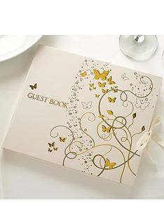 elegant-butterfly-guest-book