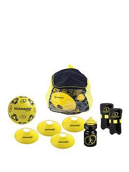 kickmaster-back-pack-training-set