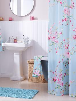 catherine-lansfield-canterbury-shower-curtain