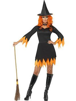 halloween-orange-witch-adult-costume