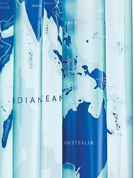 croydex-world-map-shower-curtain