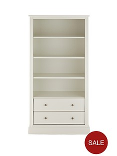 consort-dover-large-ready-assembled-bookcase