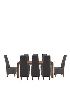 dakota-175cm-dining-table-and-8-manhattan-chairs