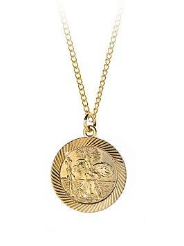 love-gold-9-carat-rolled-gold-large-st-christopher-pendant