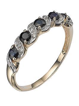 love-gem-9-carat-yellow-gold-sapphire-and-diamond-eternity-ring