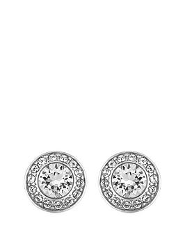 lola-and-grace-rhodium-plated-pave-stud-earrings-made-with-swarovski-elements