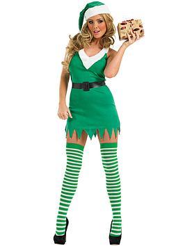 flirty-christmas-elf-adult-costume