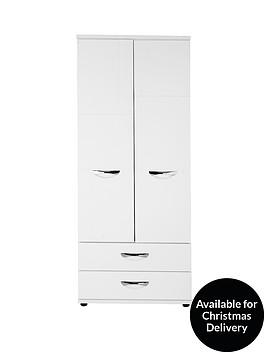consort-naxos-ready-assembled-2-door-2-drawer-gents-wardrobe