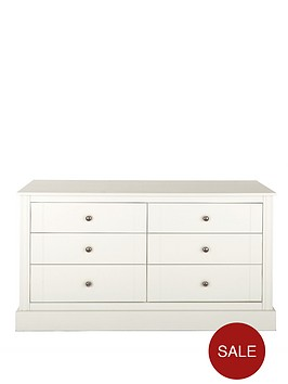 consort-dover-ready-assembled-wide-6-drawer-chest