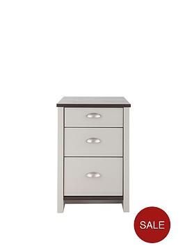 consort-tivoli-ready-assembled-3-drawer-graduated-bedside-chest