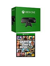 Console with GTA 5 and Optional 3 or 12 Months Xbox Live