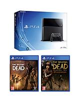 500GB Console + The Walking Dead Season 1 & 2 + FREE Bloodborne