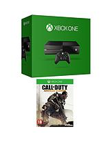 500Gb Console with Call of Duty: Advanced Warfare with Optional 3 or 12 Months Xbox Live
