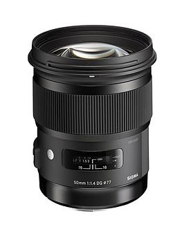 sigma-50-mm-f14-dg-a-hsm-lens-nikon-fit-black
