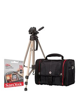 canon-dslr-shoulder-bag-and-16gb-memory-card-kit-and-tripod