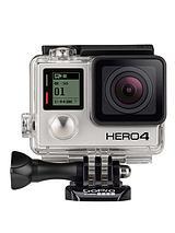 HERO4 Action Cam - Black - 4K/30fps, 1080p/120fps