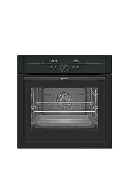 neff-b15p52s3gb-60cm-built-in-single-electric-oven-black