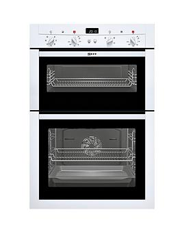 neff-u14m42w3gb-built-in-double-electric-oven-white