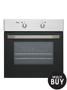 swan-sxb2020s-60cm-built-in-single-electric-oven-stainless-steel