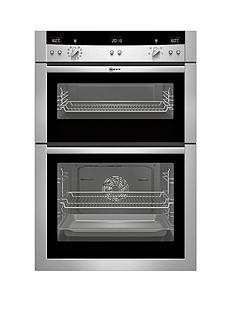 neff-u15e52n3gb-built-in-electric-double-oven-stainless-steel