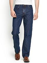 Mens Durable Straight Jeans - Darkstone