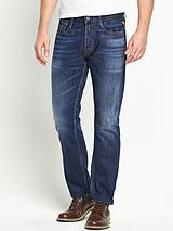 Mens New Bill Comfort Fit Jeans