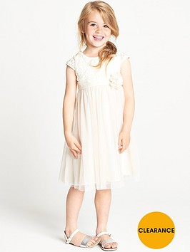 ladybird-girls-ivory-lurex-crochet-tulle-dress