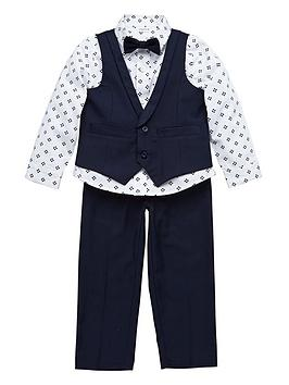 ladybird-boys-trousers-shirt-waistcoat-and-bow-tie-suit-set-4-piece