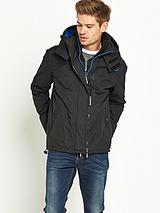 Mens Pop Zip Hooded Arctic Windcheater