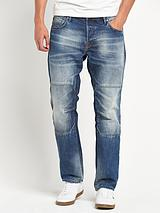 Mens Boxy Loose Fit Jeans