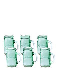 kilner-set-of-6-green-glass-handled-jars