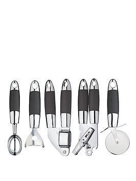 master-class-soft-grip-stainless-steel-gadget-set-5-piece