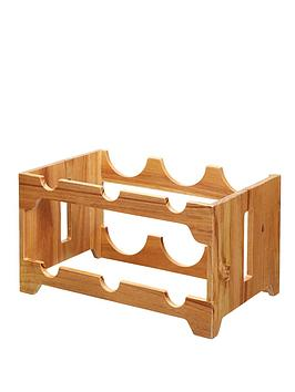 natural-elements-acacia-wood-six-bottle-wine-rack