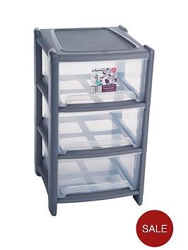 wham-3-drawer-tower-storage-unit-grey