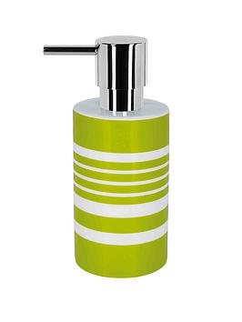 spirella-tubes-stripes-soap-dispenser-kiwi
