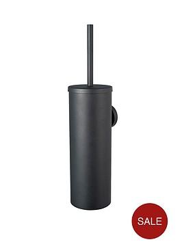 aqualux-haceka-kosmos-toilet-brush-black