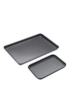 kitchen-craft-non-stick-crusty-bake-twin-baking-tray-set