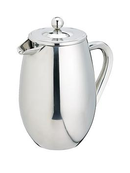 kitchen-craft-8-cup-double-walled-cafetiere-stainless-steel