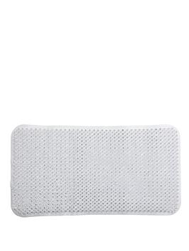 sabichi-textured-grass-bath-mat-white